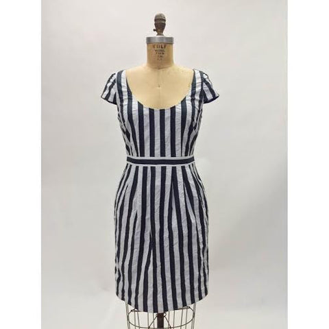 Andrew Marc Striped Dress (Size 6)