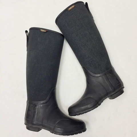 Hunter Two-Toned Rain Boots (8)