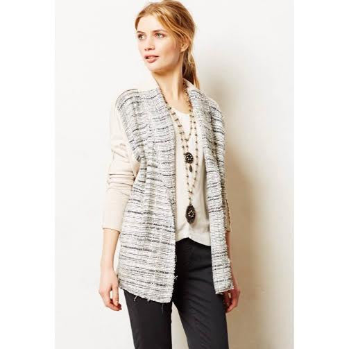 Anthro. Dolan Tweed Cardigan (S)