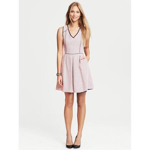 Banana Republic Pink Tweed Dress (0)
