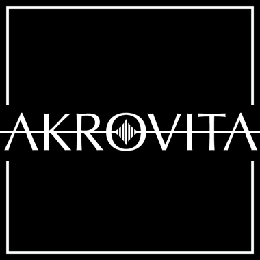 The Akrovita square logo