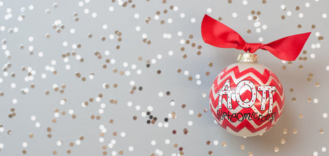 Alpha Omicron Pi Ornament