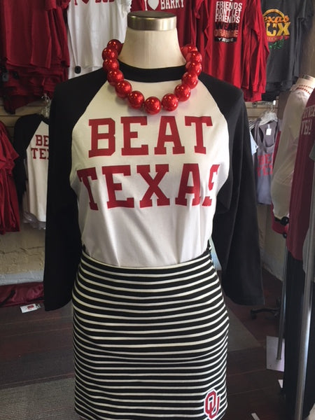 BEAT TEXAS BASEBALL T-SHIRT