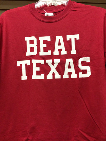 BEAT TEXAS-CRIMSON