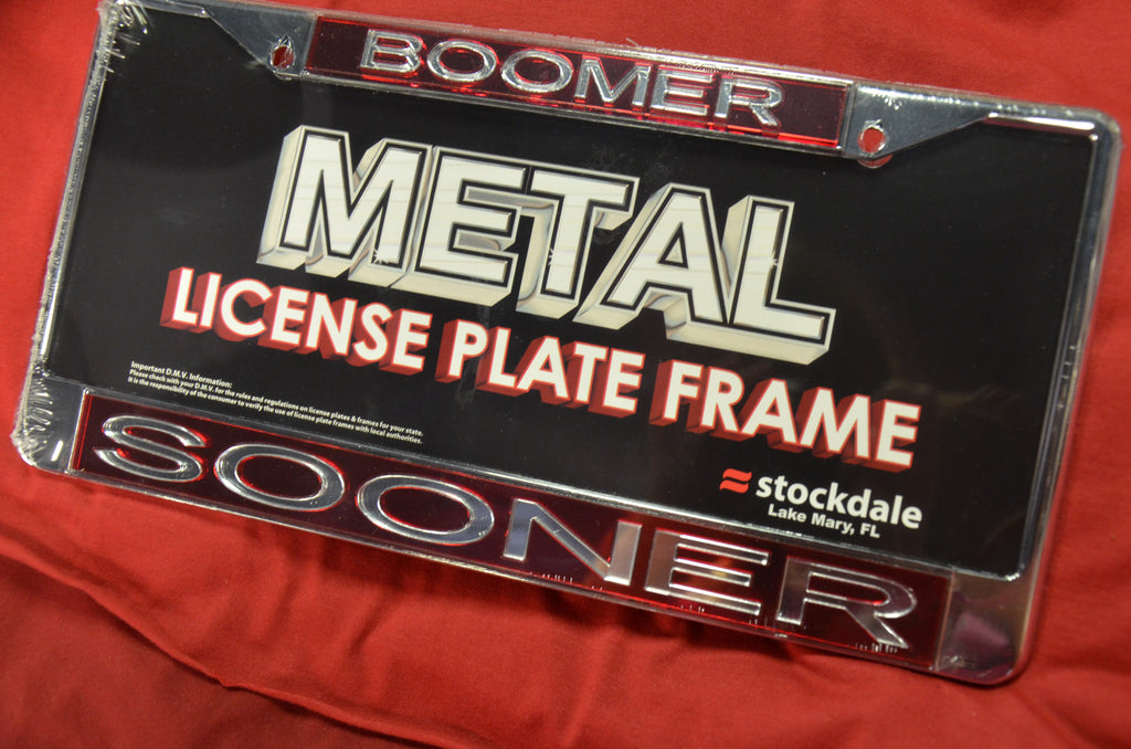 License Plate Frames The Apothem On Campus Corner