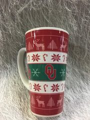 Ugly Sooner Christmas Sweater Mug