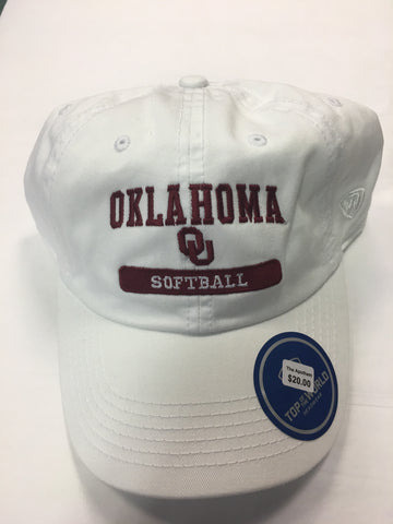 Oklahoma Softball Adjustable Cap