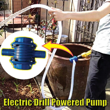 Electric Drill Powered Pump