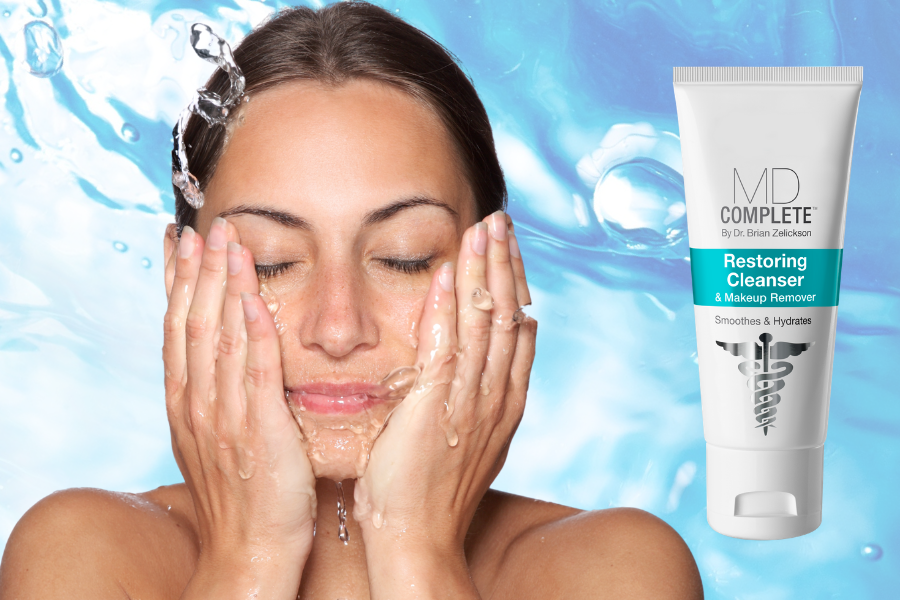MD Complete Restoring Cleanser & Makeup Remover by MyExceptionalSkin.com