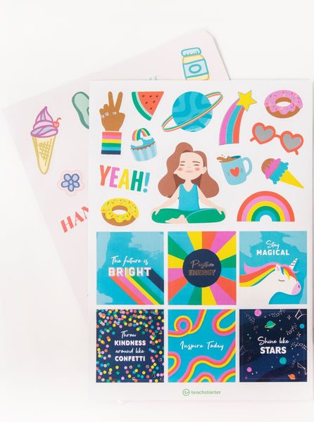 Inspire Sticker Book
