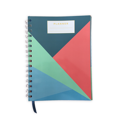 A5 Planner Diary - Sharp Angles