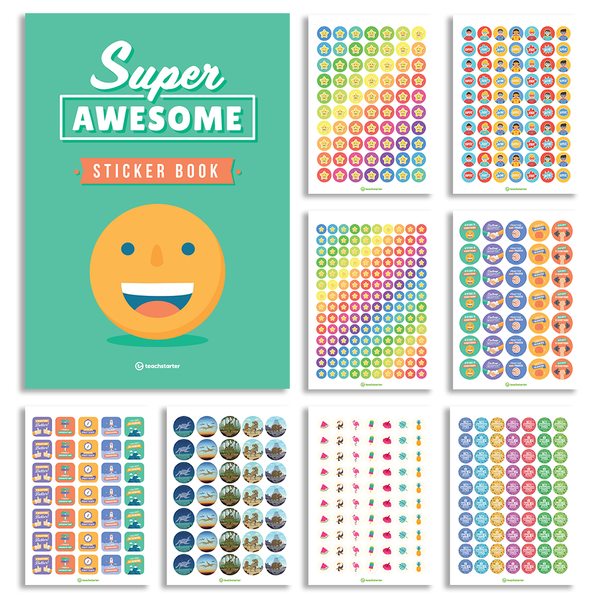 Ultimate Sticker Pack - 1800+ Stickers