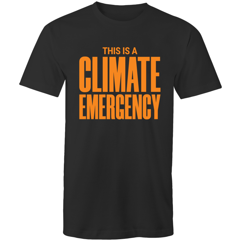 Climate Emergency - Mens T-Shirt