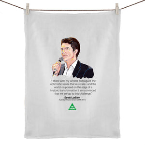 Scott Ludlam Legends Tea Towel