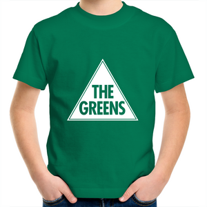 Youth Crew T-Shirt with our classic Greens logo