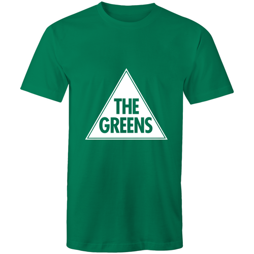 Mens Greens T-shirt with our timeless logo