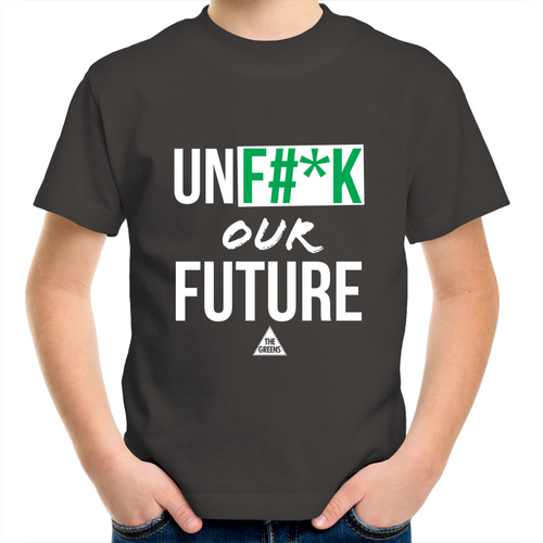UNF#*K Our Future Youth Crew t-Shirt
