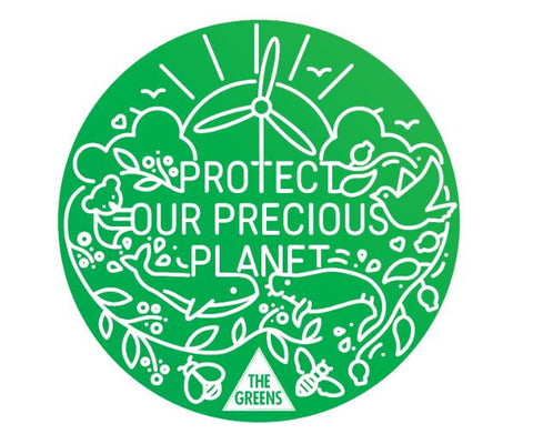 """Protect Our Precious Planet"" stickers - 5 pack"