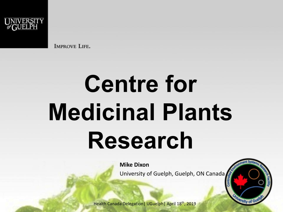 Centre for Medicinal Plants Research