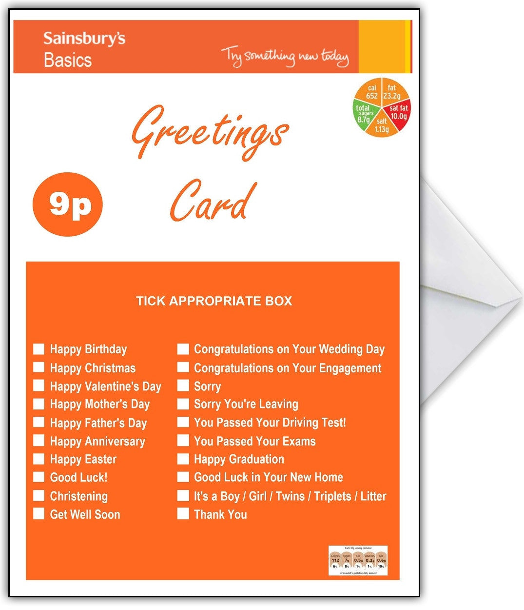 Sainsburys basics funny birthday card that card shop sainsburys basics funny birthday card that card shop bookmarktalkfo Images