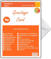 SAINSBURYS Basics Funny Birthday Card - That Card Shop