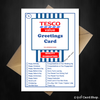 TESCO Value - Funny Joke Greetings card for literally ANY occasion - That Card Shop