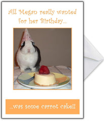 Cute Rabbit Birthday Card for a bunny-lover! - That Card Shop