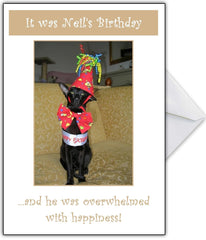 "Personalised Birthday Card - ""I'm Overwhelmed!"" - That Card Shop"