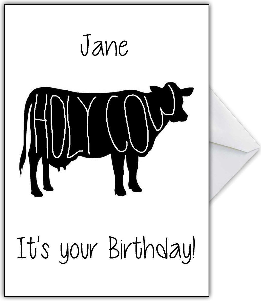 Naughty birthday card holy cows your birthday that card shop naughty birthday card holy cows your birthday bookmarktalkfo Images
