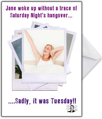 """That's a Hangover Cure!"" Drinking Joke Card for any occasion - That Card Shop"