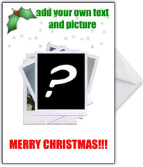 "Create Your Own Hilarious ""Polaroids"" Christmas Card - That Card Shop"