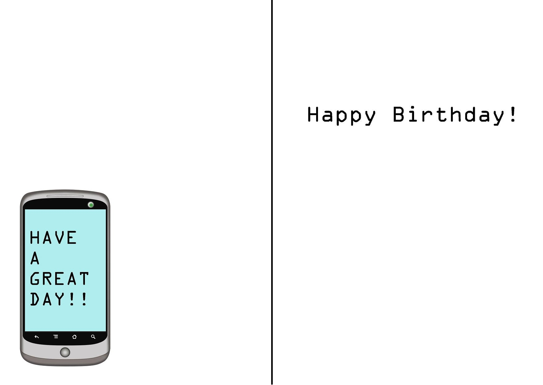 Funny birthday card this is the old fashioned way of texting funny birthday card this is the old fashioned way of texting bookmarktalkfo Gallery