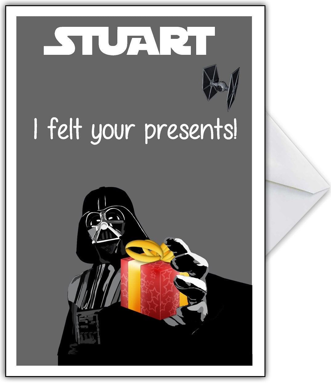 Funny STAR WARS Birthday Card - That Card Shop - 1