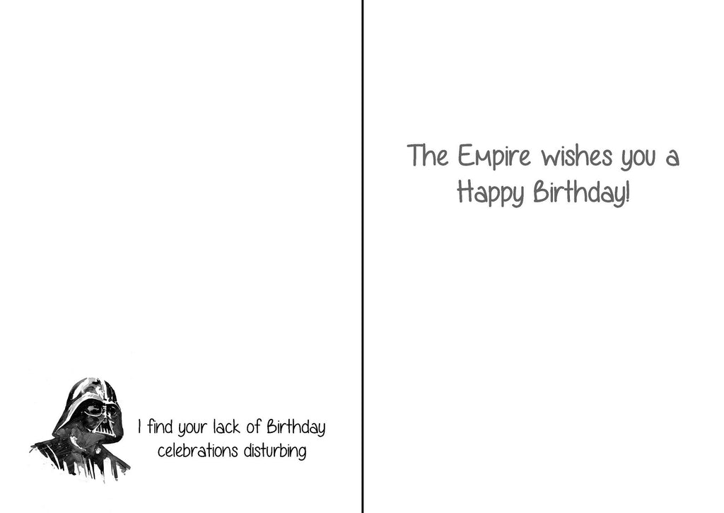 photo about Printable Star Wars Birthday Card referred to as Amusing STAR WARS Birthday Card