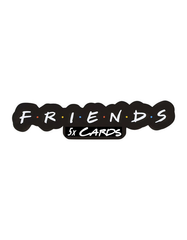 Friends TV Show Themed Christmas Cards - 5 PACK 90s Original Designs - That Card Shop