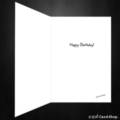 Rude Birthday Card for Him - I'll give you the V later - That Card Shop