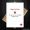 Funny Birthday Card for your Not So Wicked Step-Mum! - That Card Shop
