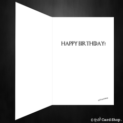 Funny Game of Thrones Birthday Card - John Snow doesn't know nothing!