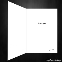 Cute Birthday / Anniversary Card - I Love you a Lottle - That Card Shop