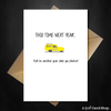 Only Fools and Horses Funny Birthday Card - This time next year... - That Card Shop