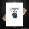 Funny Archer Birthday Card - Let's have some cake... - That Card Shop