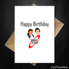 Funny Red Dwarf Birthday Card - Smeg Head - That Card Shop