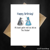 Funny Doctor Who Birthday Card - At least you're not as old as the Dr. - That Card Shop