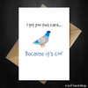 This Greetings Card is Coo' - Funny Card for Any Occasion - That Card Shop