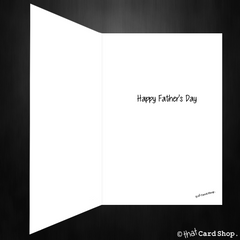 Deadpool Fathers Day Card - I thought about giving you a present! - That Card Shop