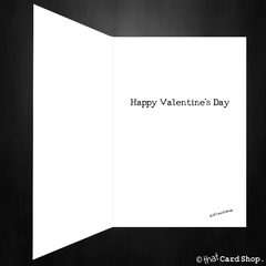 Funny Valentines Day Card  - This is more than a card, it is also your present! - That Card Shop