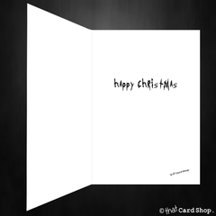 Funny Rick and Morty Christmas Card - Let's get schwifty! - That Card Shop
