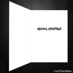 Funny Stranger Things Christmas Card - Have a Strange Xmas - That Card Shop