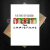 Funny Friends TV Show Christmas Card - I'll be there for you! - That Card Shop