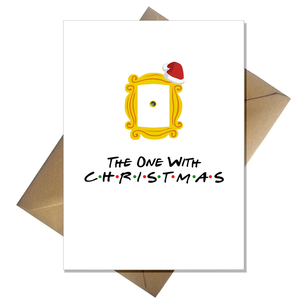 TV Show Friends Christmas Card - The one with Christmas! - That Card Shop